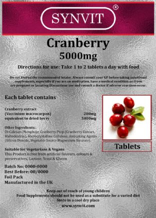 Cranberry 5000mg SYNVIT®